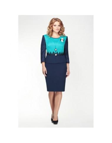 ELZA FASHION 881 Платье с жакетом vn
