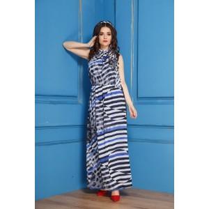 Anastasia 196 Платье (черный/синий)