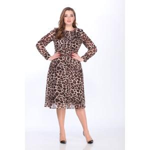 ELLETTO 1734 Платье (коричневый)