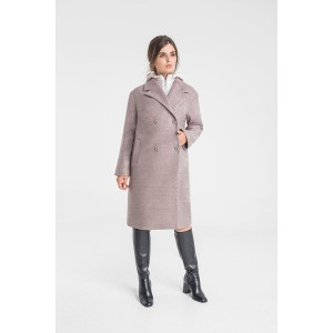 ELLETTO 3361 Пальто (серый)