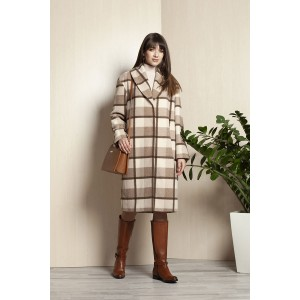 ELLETTO 3393 Пальто (бежевый)