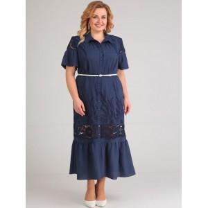 ELTRIGA 01-597 Платье (синий)