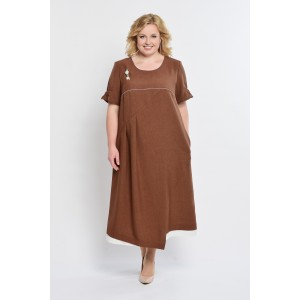 ELTRIGA 01-602 Платье (шоколад)