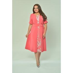 ELTRIGA 01-613 Платье (коралл)