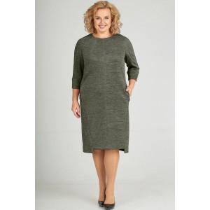 ELTRIGA 01-637 Платье (олива)