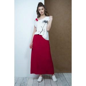 Fantazia Mod 3419 Комплект юбочный (бордо)