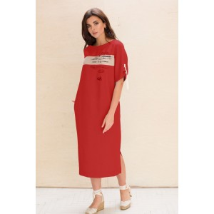 Faufilure С1050 Платье (красный)