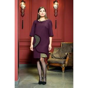Faufilure С475 Платье (темная фуксия)
