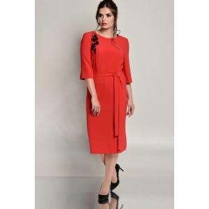 Faufilure С670 Платье (красный)