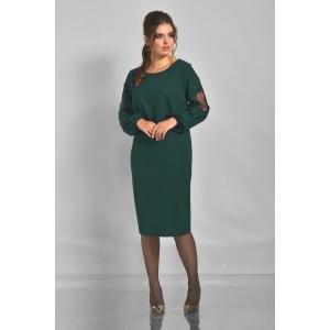 Faufilure С804 Платье (изумруд)