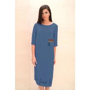 Faufilure С818 Платье (джинс)