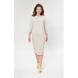 Faufilure С874 Платье (Светло-серый)