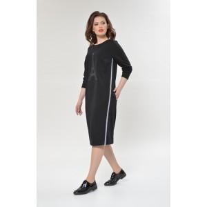 Faufilure С884 Платье (Черный)