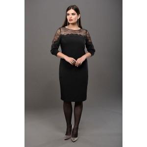 Faufilure С1003 Платье (черный)