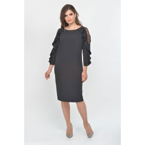 Faufilure С1006 Платье (черный)