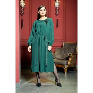Faufilure С1010 Платье (изумрудный)