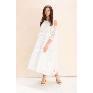 Faufilure С1032 Платье (белый)