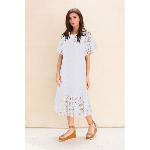 Faufilure С1035 Платье (белый)