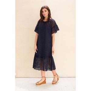 Faufilure С1035 Платье (синий)