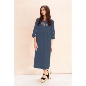 Faufilure С1049 Платье (джинс)