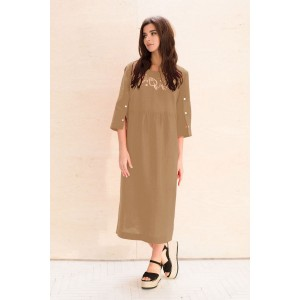Faufilure С1049 Платье (песочный)