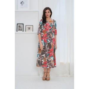 Faufilure С1058 Платье (дизайн Африка)