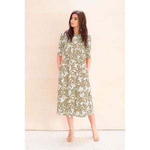 Faufilure С1058 Платье (хаки)