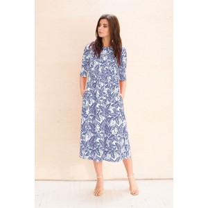 Faufilure С1058 Платье (синий)