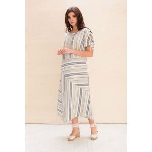 Faufilure С1060 Платье (дизайн полоска)