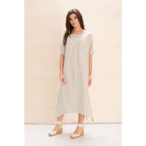 Faufilure С1061 Платье (полоска)