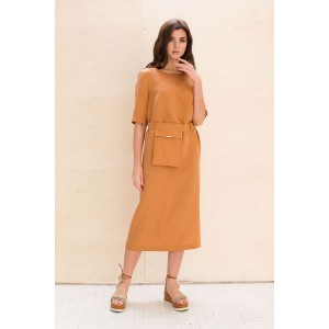 Faufilure С1063 Платье (кирпичный)