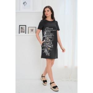 Faufilure С1078 Платье (черный)
