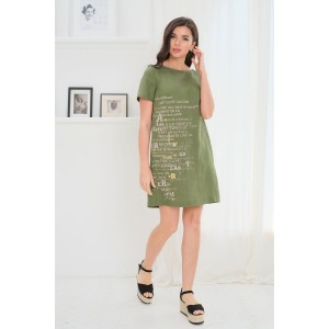 Faufilure С1078 Платье (олива)