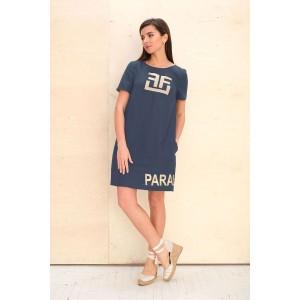Faufilure С1079 Платье (джинс)