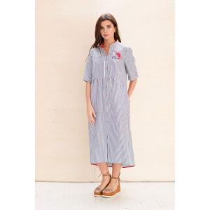 Faufilure С600 Платье (полоска)