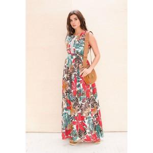 Faufilure С644 Платье (дизайн Африка)