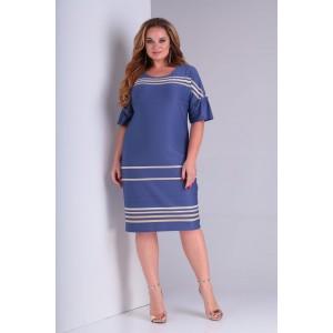 Karina Delux 132А Платье (индиго)