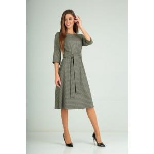 Karina Delux 170 Платье (черно-оливковый)