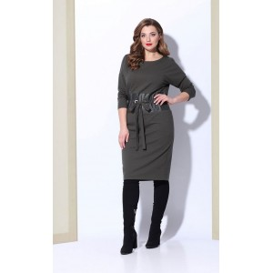 Karina Delux B-227 Платье (хаки)