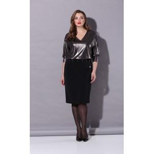 Karina Delux B-230 Платье (черный/графит)