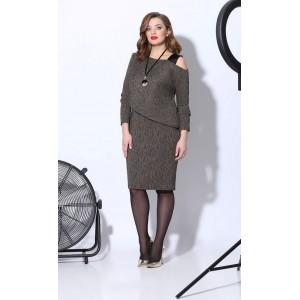 Karina Delux B-241 Платье (охра)