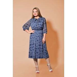 Karina Delux 272-1 Платье (синий)