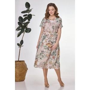 Karina Delux 284 Платье (цветочный принт)