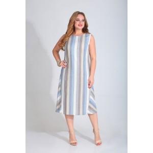 Karina Delux 288-1 Платье (бело-голубой)