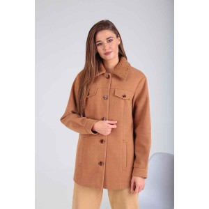 Karina Delux 347 Пальто (бежевый)