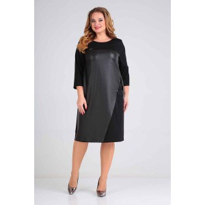 Karina Delux 349 Платье (чёрный)
