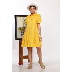 Karina Delux 436А Платье (жёлтый)