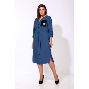 Karina Delux 9903-1 Платье (синий)
