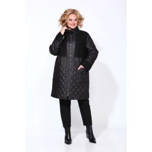 Karina Delux 9908 Пальто (чёрный)
