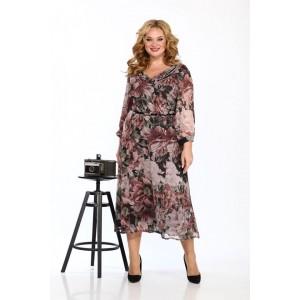 Karina Delux 9913 Платье (цветочный принт)